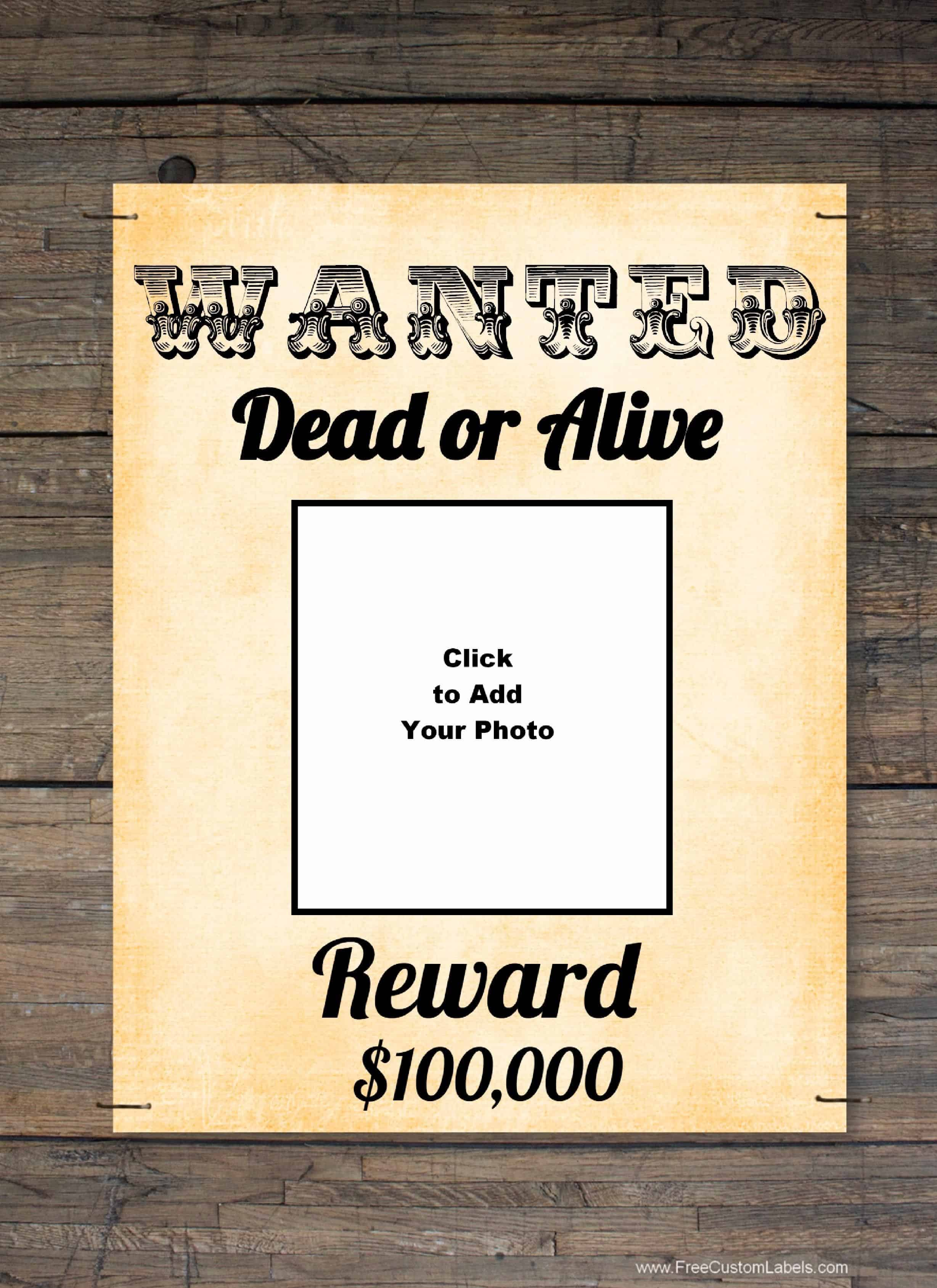 Wanted Poster Template Download Poster TemplatesWanted Poster – Wanted Poster Template Publisher