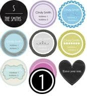 Free Label Maker Online Instant Download Print At Home - Label maker online template