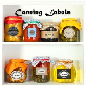 free canning labels