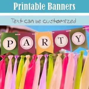 custom printable banners