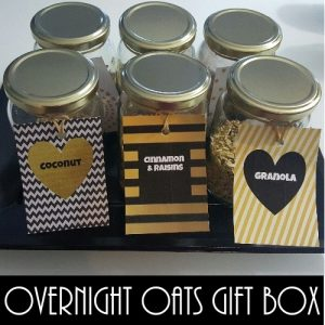 overnight oats gift box
