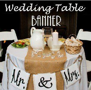 Free printable wedding banner