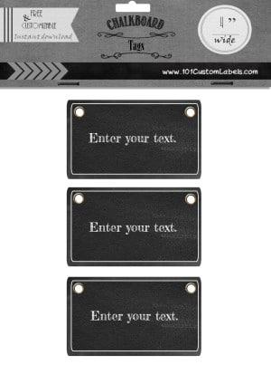 printable tag
