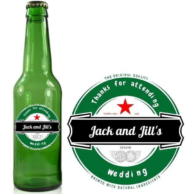 Create Printable Beer Labels Online
