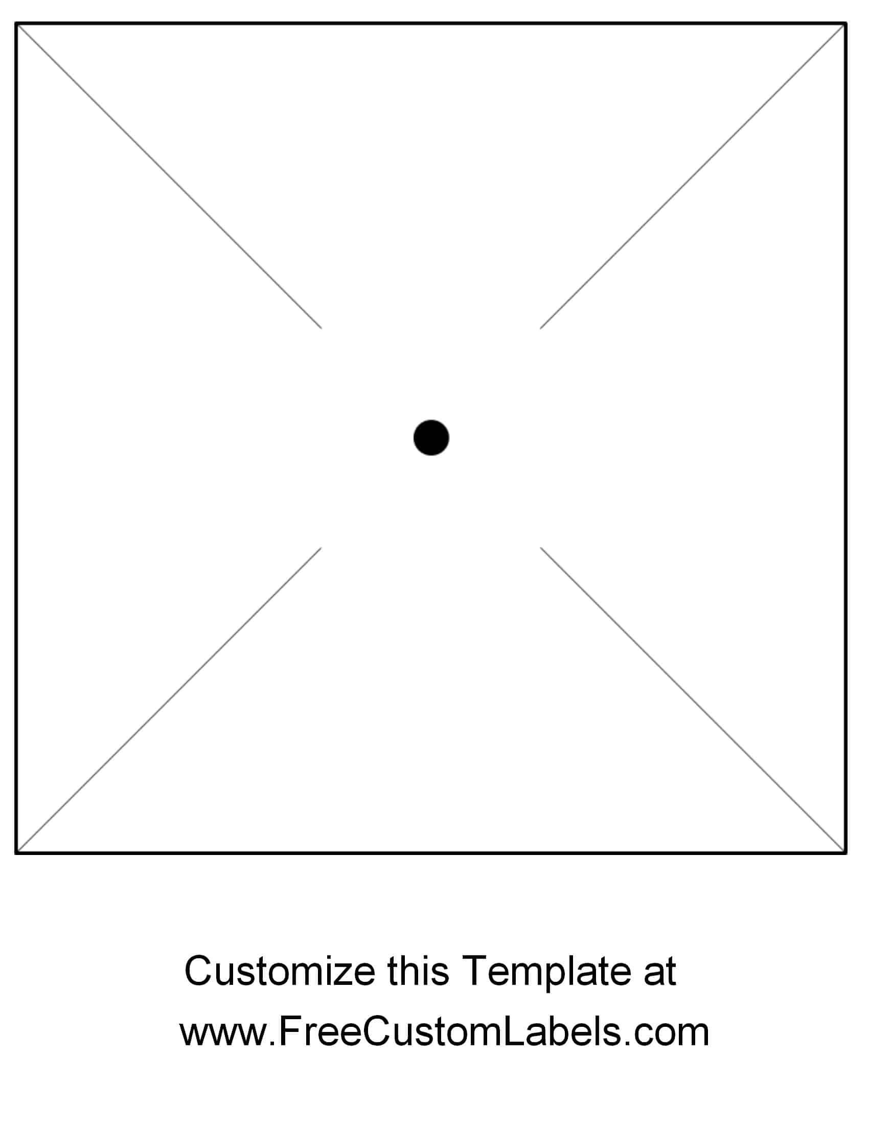 Free Pinwheel Template Instant Download Customizable