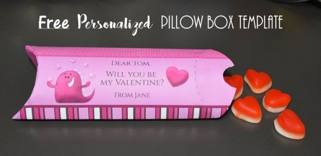 pillow box template