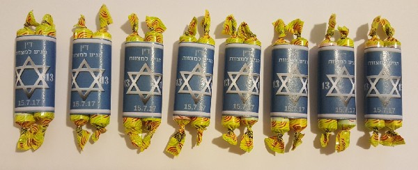 diy bar mitzvah favors