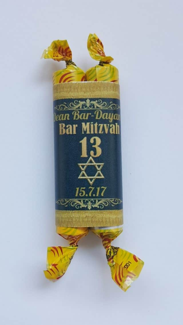 bar mitzva favor